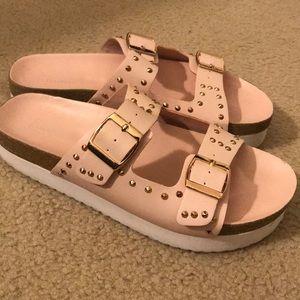 Platform studded sandals ❤️